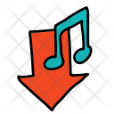 Music Download Note Icon