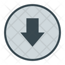 Download Down Media Icon