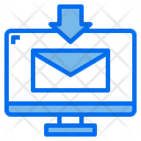 Monitor Mail Download Icon