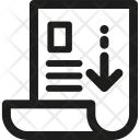 Download Resume Cv Icon