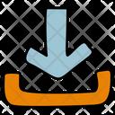 Download Symbol Download File Downloading Icon