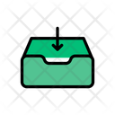 Inbox Drawer Open Icon