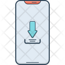 Download To Phone Software Technology Icon