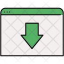 Move Webpage Download Icon