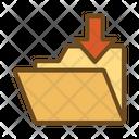 Downloaded Folder Icon