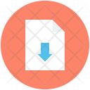 Downloading Download File Icon