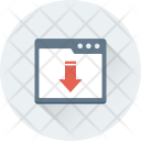 Downloading Web Interface Icon