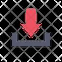 Download Arrow File Download Icon