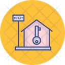 Downpayment Home Key House Ownership Icon