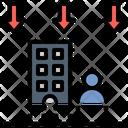 Downsizing Decrease Reduce Icon