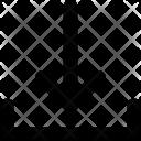 Downward Down Arrow Icon