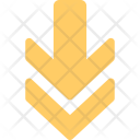 Down Sign Direction Icon