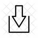 Downward Arrow Ui Web Icon