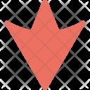 Arrow Down Direction Icon