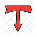 Downward Arrow Directional Arrow Navigational Arrow Icon