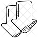 Downward Arrows Icon