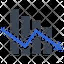 Analysis Graph Loss Icon