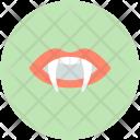 Dracula Evil Teeth Icon