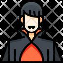 Dracula Vampire Demon Icon