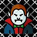 Dracula Monster Vampire Icon