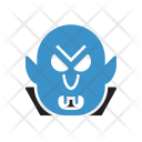 Dracula Spooky Ghost Icon