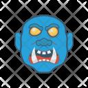 Dracula Halloween Zombie Icon