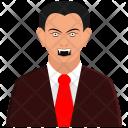 Dracula Halloween Holiday Icon