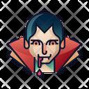 Dracula Avatar Spooky Icon