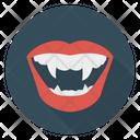 Dracula Teeth Monster Icon