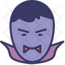 Teeth Vampire Scary Icon