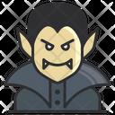 Dracula Vampire Halloween Icon