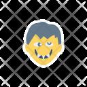 Dracula Vampire Creepy Icon