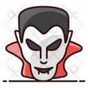 Dracula Face Vampire Dracula Icon
