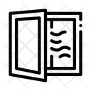 Draft Window Pvc Icon