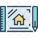Draft Outline Framework Icon