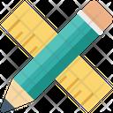 Draft Tools Pencil Ruler Icon