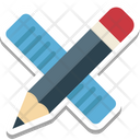 Draft Tools Pencil Ruler Icon