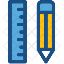 Geometry Pencil Draft Icon
