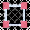 Artboard Drafter Square Icon
