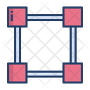 Drafter Square Ruler Icon