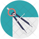Tool Compass Geometry Icon