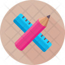 Drafting Scale Pencil Icon