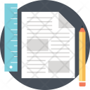 Drafting Geometry Drawing Icon