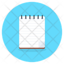 Drafting Pad Jotter Writing Pad Icon