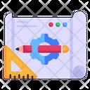 Drafting Process Icon