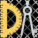 Compass Divider Architectural Icon