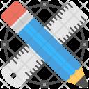 Drafting Tools Pencil Icon