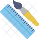 Drafting Tools Scale Icon