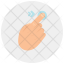 Drag Right Finger Icon