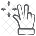 Drag And Drop Drag Finger Tap Icon